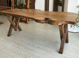 Karaca Chestnut Table